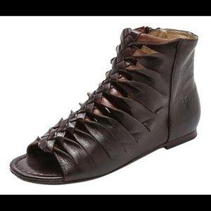 Frye Marlene Twisted Sandal - Black